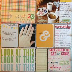 Mrs Crafty Adams | Project Life 2013 - Week 20