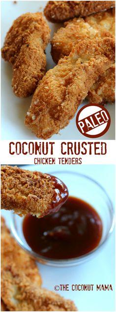 Coconut Chicken Tenders – The Coconut Mama