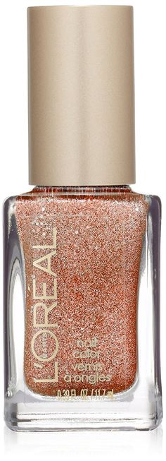 L'Oreal Paris Colour Riche Nail Gold Dust Nail Color, I Like It Chunky, 0.39 Fluid Ounce -- Visit the image link more details. (Note:Amazon affiliate link)