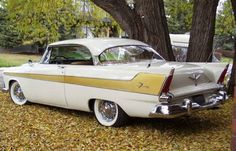 1956 Plymouth Fury old car