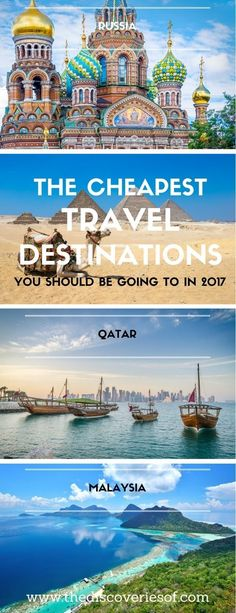 Hold on, your travel bucket list is about to get a lot longer! Here are the cheapest travel destinations you should be travelling to this year. Looking for affordable unique adventures around the world - click here for wanderlust inspiration. #ExcitingTravelDestinations