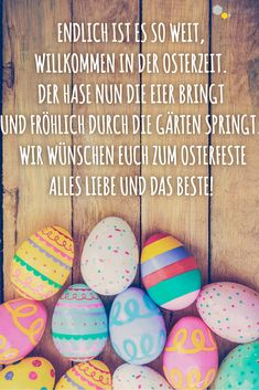 # Sayings # Greetings Sent . Sending sweet and funny Easter greetings The most beautiful Easter greetings as text & free Easter cards are on ROOMBEEZ! Free Easter Cards, Easter Greeting Cards, Happy Easter, Easter Bunny, Easter Eggs, How To Make Decorations, Balloon Decorations, Colourful Balloons, Blog Deco