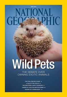 National Geographic magazine, april 2014