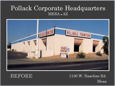 Pollack Investments corporate headquarters prior to Re-Development by Michael Pollack.