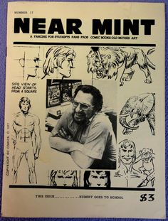 NEAR MINT #17 Pop Culture Nostalgia Fanzine Joe KUBERT School