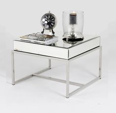 this glamorous lamp table is the latest addition to our art deco mirrored furniture collection art deco furniture lines