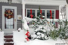 Outdoor Christmas Decoration Ideas - Bing Images