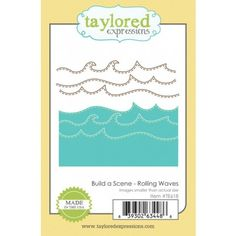 Build a Scene - Rolling Waves $20.00