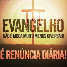 #mulpix Viva o verdadeiro evangelho, Não vos conformeis com este mundo, mas…