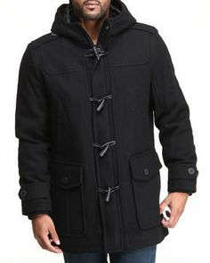 Buy Melton Wool Toggle Duffle Coat Men's Outerwear from Levi's. Find Levi's fashions & more at DrJays.com