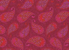 Fabric paisley - India Collection