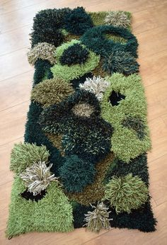 Commissioned textile piece for Kerrygold Park. Shag Rug, Textiles, It Is Finished, Sculpture, Rugs, Knitting, Wall, Pattern, House