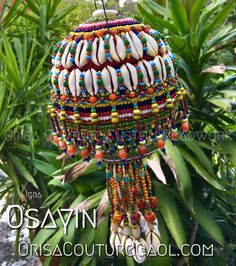 Igba Osayin For inquires, please send an email to OrisaCouture@aol.com #igba #osayin #osanyin #osain #orisa #orisha #lukumi #santeria #yoruba #diaspora #orisacouture