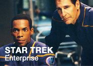 Star Trek Enterprise.  A series for my generation.  I particularly love this series for its attempt to create a prequel to the main series.  I love the realistic sense of exploration and adventure as Humanity finally reaches out into space.