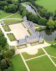 Chateau de Canisy - Normandie
