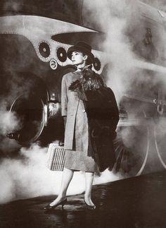 Audrey Hepburn in 'Funny Face' 1957.