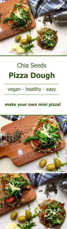 chia seeds pizza dough