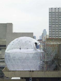 Tomas Saraceno, Observatory, Air-Port-City, London, 2008