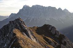 Grubigsteinwanderung mit Wettersteinmassiv im Hintergrund Half Dome, Mount Everest, Mountains, Nature, Travel, Weather, Stones, Summer, Naturaleza