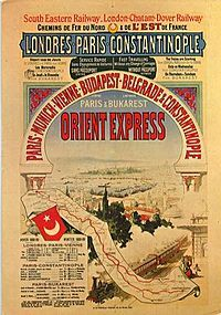The Orient Express would have been such an adventure - sadly it's no longer in service - BUT I'm sure there's a way to hit the stops - just minus the train.