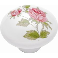 Buy the Hickory Hardware Pink Rose Direct. Shop for the Hickory Hardware Pink Rose English Cozy Inch Mushroom Cabinet Knob and save. Cabinet And Drawer Knobs, Knobs And Handles, Knobs And Pulls, Cabinet Hardware, Drawer Fronts, Beautiful Pink Roses, Pretty Roses, Beautiful Things, Rose Illustration