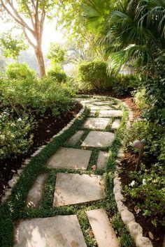 Beautiful Garden Path  - Style Estate -