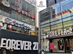Get your style at Forever21 in Myeongdong branch. 1-min walk from K-POP House