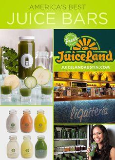 America's Best Juice Bars