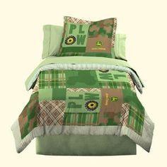 john deere bedroom ideas- really like this bedding
