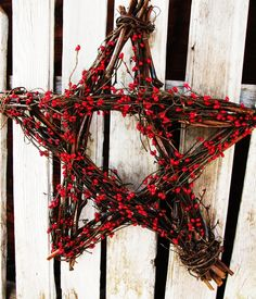 Yule Wreath. Great idea!