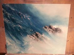 Very big wave :) Big Waves, My Arts, Water, Painting, Outdoor, Gripe Water, Outdoors, Painting Art, Paintings