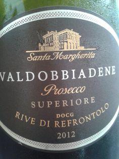 Prosecco Valdobbiadene Rive di Refrontolo Santa Margherita #vino