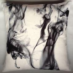 Big Smoke Cushion £60.00  Digital printed linen cushion.