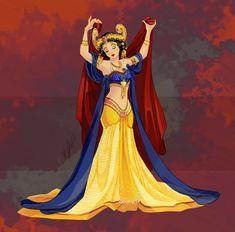 Disney Belly Dancers: Golden Age by Blatterbury on DeviantArt Disney Princess Fashion, Disney Princess Art, Disney Style, Disney Fashion, Disney Artwork, Disney Fan Art, Disney Drawings, Princess Pictures, Twisted Disney