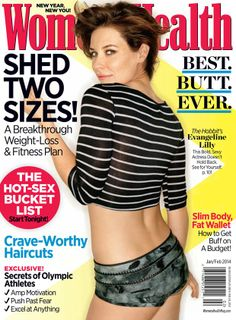 """Being dubbed for having Hollywood's """"Best Butt Ever!"""" was no compliment to Evangeline Lilly -- find out how she reacted to her Women's Health cover Evangelina Lilly, Nicole Evangeline Lilly, Meagan Good, Womens Health Magazine, Health Fitness, Women's Health, Health Goals, Love Bear, Strong Body"""
