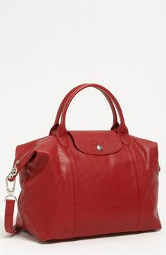 Longchamp 'Le Pliage Cuir' Leather...