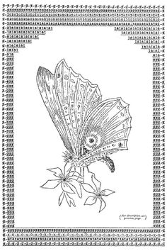 A Visual History of Typewriter Art from 1893 to Today – Brain Pickings Ascii Art, Butterfly Drawing, Butterfly Pictures, Found Art, Book Gifts, Unique Art, Art Forms, Art Images, Letterpress