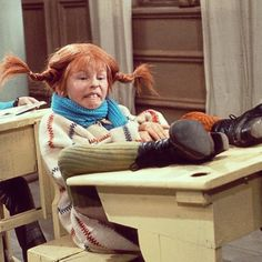 Decided my next daughter will be named Pippi. I hope she will have red hair, buck teeth, and is heavily dubbed over in English. ( not my original caption but might as well be! Pippi Longstocking, Jim Henson, Kid Poses, Kids Shows, Kermit, Refashion, Role Models, Girl Power, Red Hair