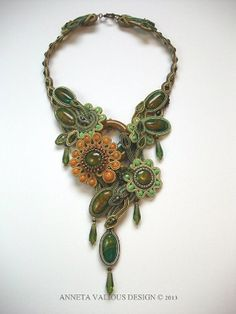 Anneta Valious soutache necklace
