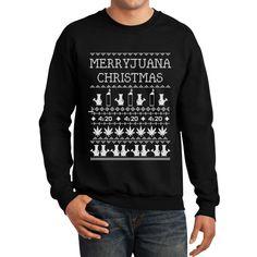 Amazon.com: Merryjuana Funny Ugly Christmas Sweater
