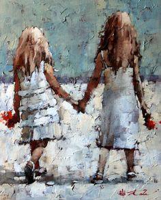 Modern painting, beautiful paintings, paintings i love, people art, art f. Paintings I Love, Beautiful Paintings, People Art, Painting Inspiration, Painting & Drawing, Art Drawings, Art Projects, Art Gallery, Fine Art