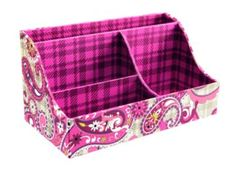 Sort It Out in Paisley Meets Plaid| Vera Bradley  I need this!!!