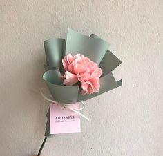 New flowers bouquet birthday gift ideas Ideas - Flowers - Boquette Flowers, How To Wrap Flowers, Bunch Of Flowers, Pretty Flowers, Paper Flowers, Bouquet Of Flowers, Tulip Bouquet, Drawing Flowers, Flowers Garden