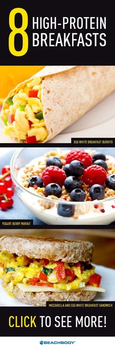 Check out one of these healthy, high-protein breakfasts to help you load up on all the right nutrients and get your day off to the perfect start! // Breakfast // protein // recipes // Beachbody // http://BeachbodyBlog.com