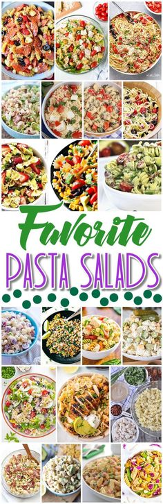 Easy Pasta Salad Recipes - The BEST Yummy Barbecue Side Dishes, Potluck Favorites and Summer Dinner Party Crowd Pleasers - Dreaming in DIY