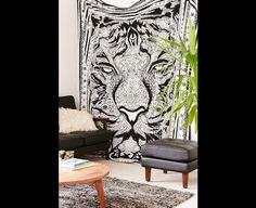 Wall Decor – Delhiricons Summer Queen Wall Hanging Tapestries – a unique product by Delhiricons on DaWanda