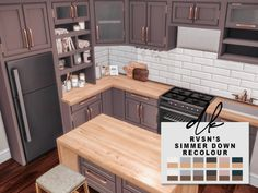 Sims 4 Teen, Sims Four, Sims 4 Mm, Mods Sims, Sims 4 Game Mods, Sims 4 Cc Furniture, Kitchen Furniture, Resource Furniture, Sims 4 Kitchen Cabinets