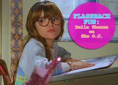 Fun flashback! Bella Throne on The O.C.!