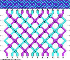 Arrow bracelet pattern