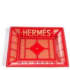 I REALLY think I need this Hermes tray. Don't I?